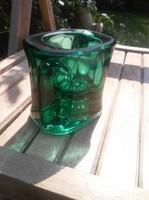 Cseh üveg váza
