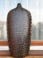 Egyedi  F.J. Reneszánsz Kerámia Stúdió NAGY kerámia váza HIBÁTLAN KÜLÖNLEGES