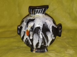Gorka Lívia stilizált hal figura ritkaság
