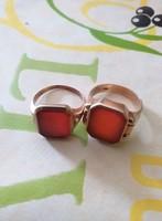 Egy pár pécsétgyűrű(női,férfi)