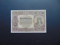 100 korona 1920 A 025 Szép ropogós bankjegy
