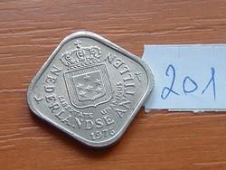 HOLLAND ANTILLÁK 5 CENT 1976 SZÖGLETES 201.