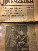 Horthy István kinevezése 1942
