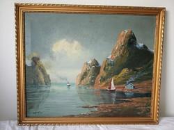 Mérey László festmény
