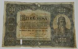 1000 korona 1920 2 db