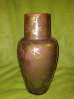 Zsolnay szőlő mintás váza szecessziós