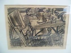 Frank Frigyes (1890 - 1976): Terasz sarka