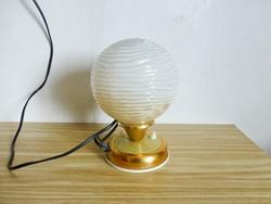 Extrém ritka szarvasi,ugró szarvasos,újszerű réz talapzatú hangulat lámpa designe lámpa II.