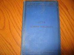 Method GASPEY-OTTO-SAUER German  angol-német  dialogues 1892-es kiadás