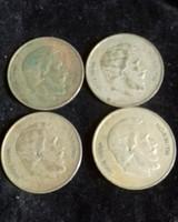 Kossuth 5ft ezüst Négy darab 1947
