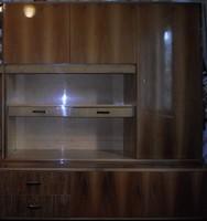 Retro szekrény 1. (nappali bútor, 1960-1970-es évek)