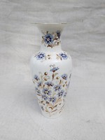 Zsolnay búzavirágos váza, 35 cm.