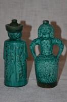Kerámia párocska ( asszonyos és emberes butella )  ( DBZ 005 )