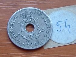 BELGIUM BELGIE 10 CENTIMES 1904 54.