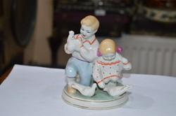 Rigi orosz porcelán figura