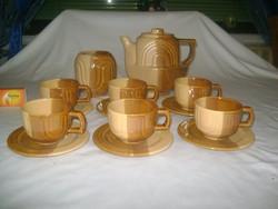 Kerámia kávéskészlet