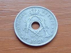 BELGIUM BELGIE 25 CENTIMES 1921
