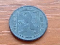 BELGIUM BELGIQUE - BELGIE 1 FRANK 1941 WW II CINK