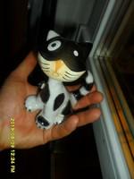 KSZ Kerámia Iparművész art deco  macska cica