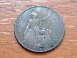ANGOL ANGLIA 1 PENNY 1916