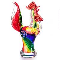 Különleges kakas figura - Muranoi stílusú - Érdekes műalkotás