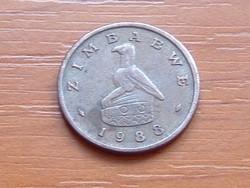 ZIMBABWE 1 CENT 1988