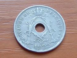 BELGIUM BELGIQUE 25 CENTIMES 1922