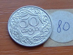 LENGYEL 50 GROSZY 1923 80.