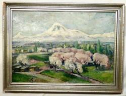 Tavaszi ,, minőségi festmény , AUKCIÓ