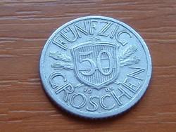 AUSZTRIA OSZTRÁK 50 GROSCHEN 1946 ALU.