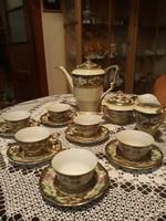 Porcelán kávéskészlet