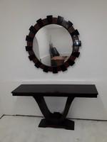 Konzolasztal tükörrel
