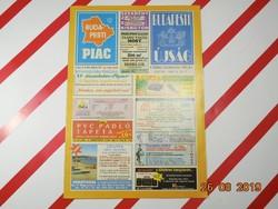 Budapesti Piac -  Régi reklám újság 1994 - A Fővárosi Önkormányzat hetilapja