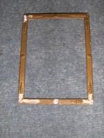 Régi képkeret 14,5*19,5 cm (n-4)