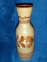Hódmezővásárhelyi kerámia váza 26 cm (3/d)