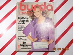 Burda - magazin retro divatlap újság - 1980. november 11. szám