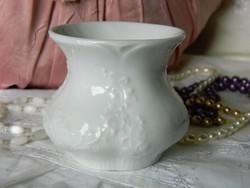 Fehér Royal porcelán kicsi váza