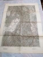 KÉZDI-VÁSÁRHELY régi térképe