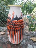 Gorka Lívia jelzetlen 41 cm magas váza.