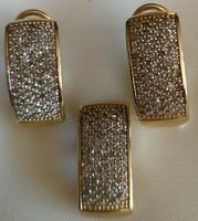 1.5kr gyémánt 14kr.arany szett
