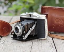 Agfa Isolette II fényképezőgép+tartozékok