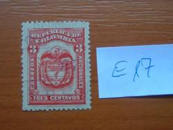 KOLUMBIA 3 C 1920 -1924 címer E17