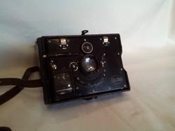 Ica-bébé antik fényképezőgép + képek+ vetítő