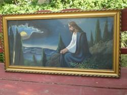 Szórády István : Jézus az olajfák hegyén