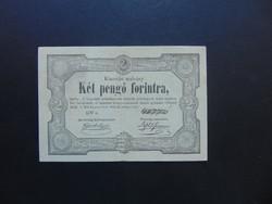 2 pengő 1849 Kossuth bankó !