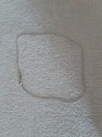 Vékony ezüst bokalánc 925