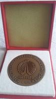 Szövetkezeti munkáért jubileumi emlék 1945 - 1970 emlékérem,  kitüntetés, plakett, bronz