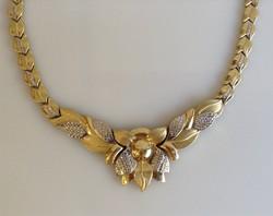 Arany nyakék és karlánc