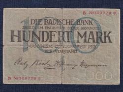 100 Márka 1918 notgeld / id 10243/