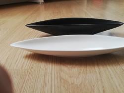 Csónak formájú asztalközép 2 db